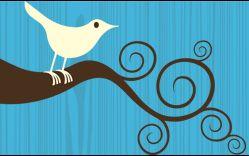 Twittering away